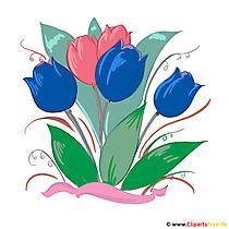 Cliparts blumen kostenlos clipart freeuse stock Blumen Bilder, Cliparts, Illustrationen gratis clipart freeuse stock