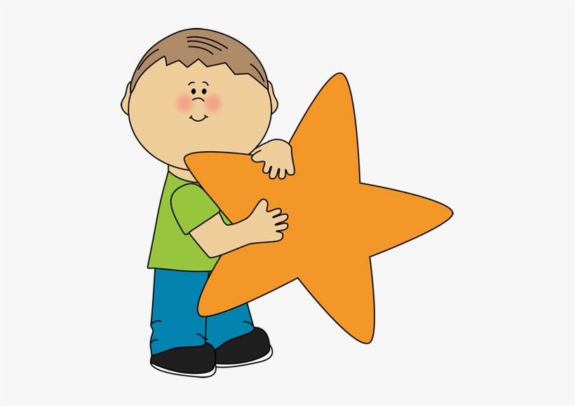 Cliparts children star