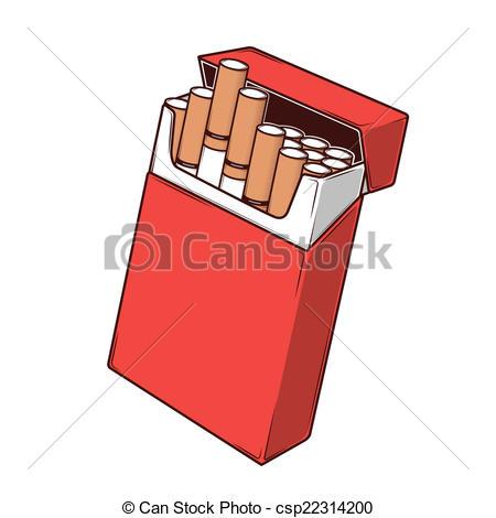 Cliparts cigarettes. Cigarette box clipart clipartfest