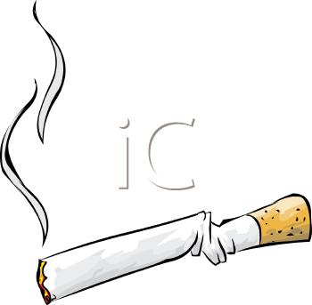 Cliparts cigarettes. Clothes of cigarette smoke