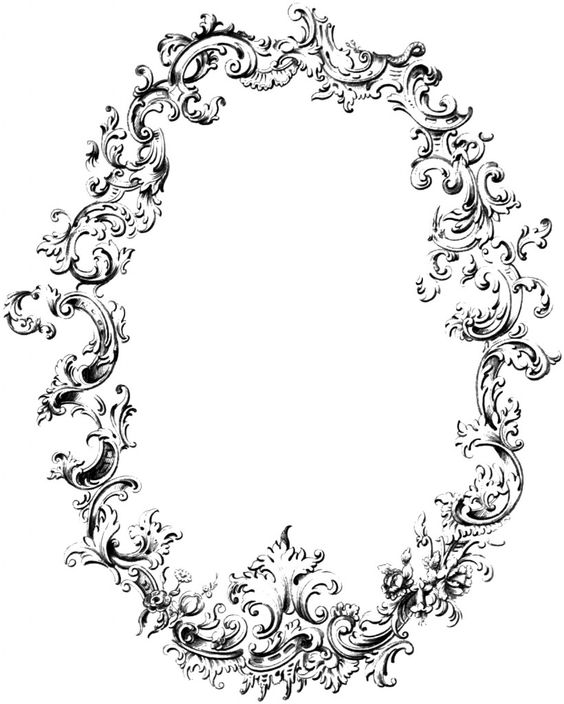 Cliparts collections free download vector library library Free Fancy Frame Vintage Clip Art Image (Oh So Nifty Vintage ... vector library library