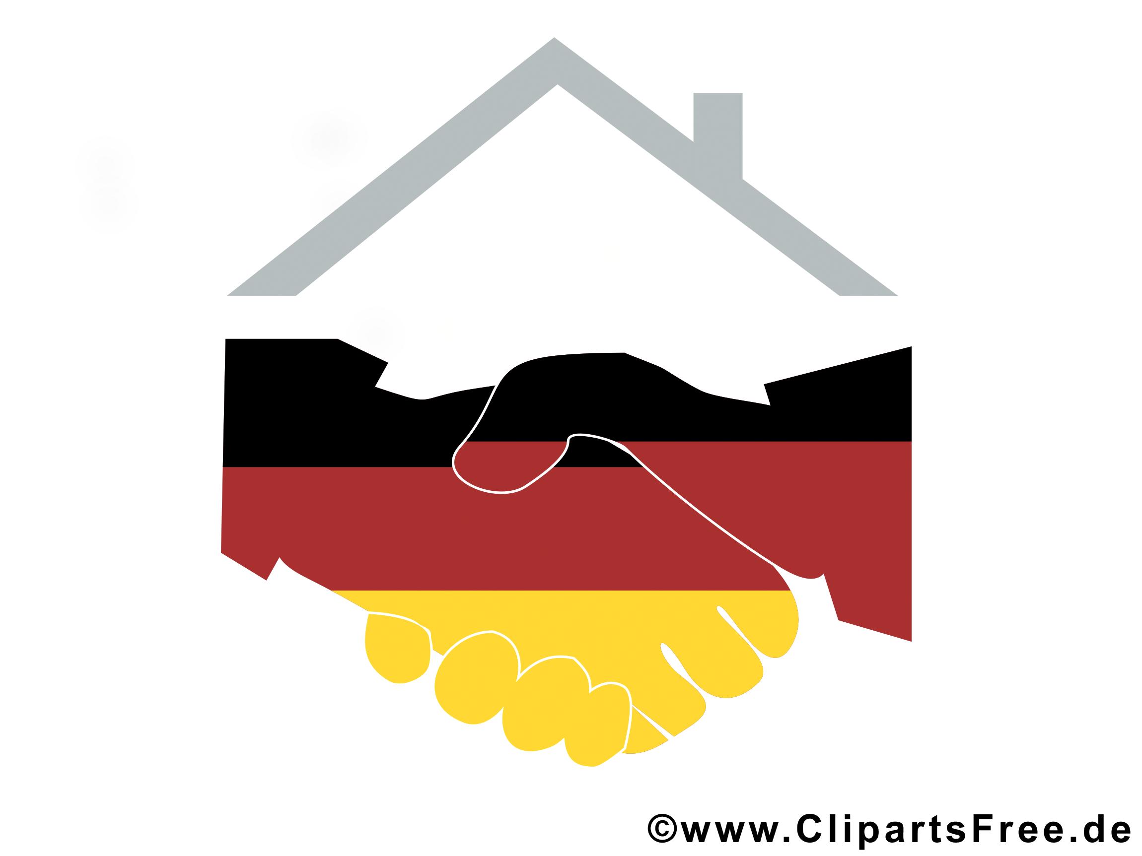 Cliparts deutsche einheit