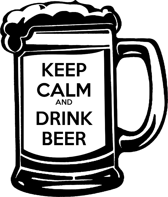 Keep calm and hire crown clipart picture black and white stock Cooler Beer List   Pinterest   60 geburtstag, Silhouetten und Plotten picture black and white stock
