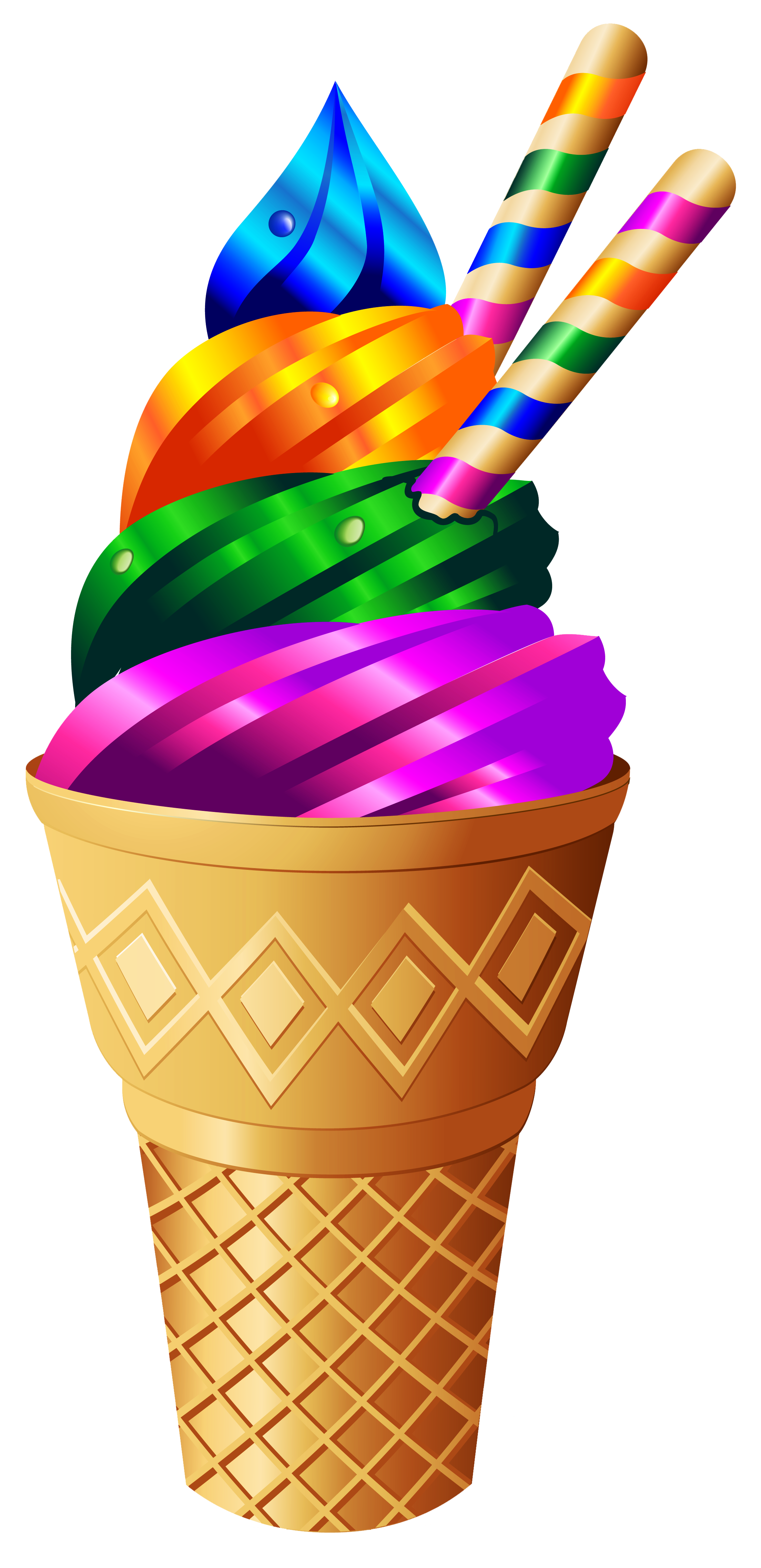 Cliparts essen und trinken clipart download Transparent Rainbow Ice Cream PNG Image | Scrap booking | Pinterest ... clipart download