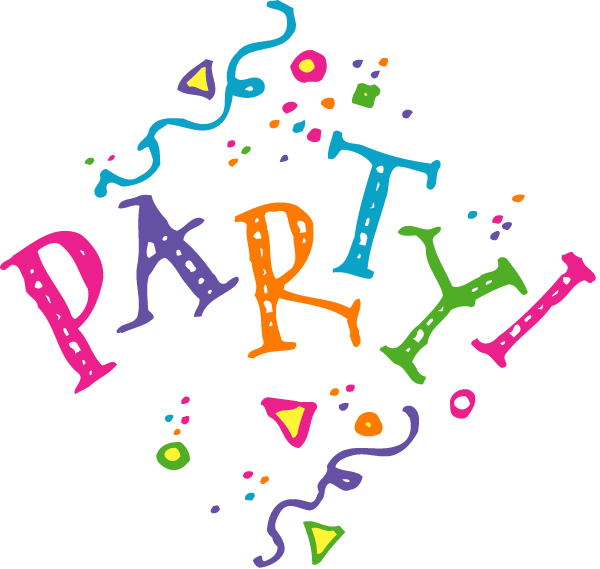 Book party clipart clip art library download Free Party Clipart Pictures - Clipartix clip art library download