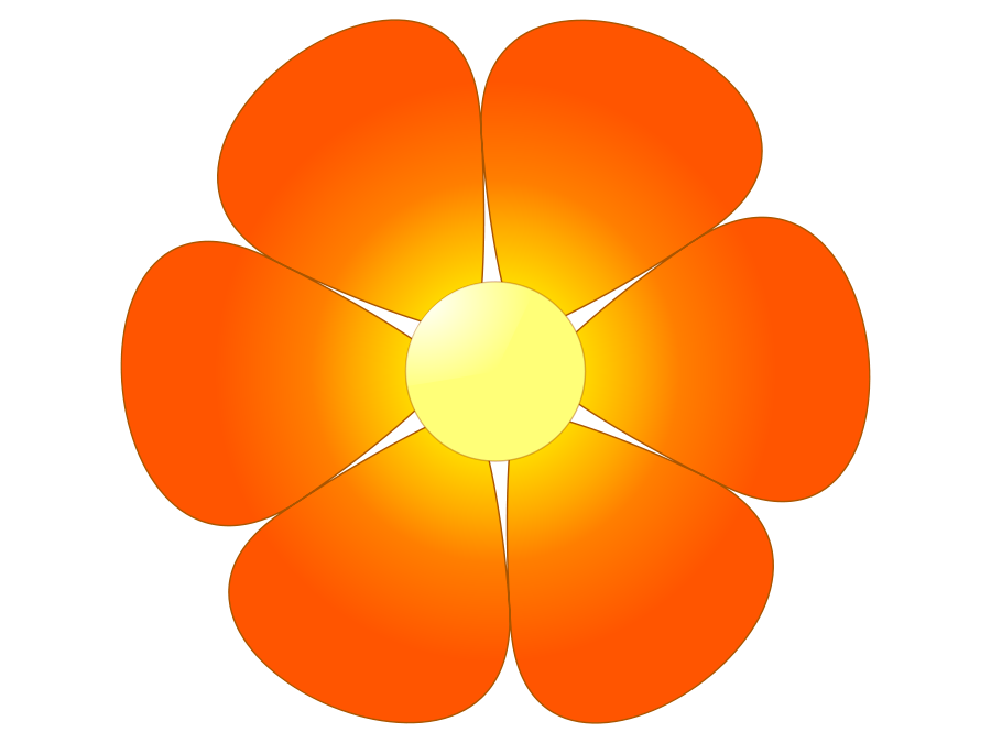 Flower cliparts free download jpg black and white stock Orange flowers cliparts free download clip art png - Clipartix jpg black and white stock