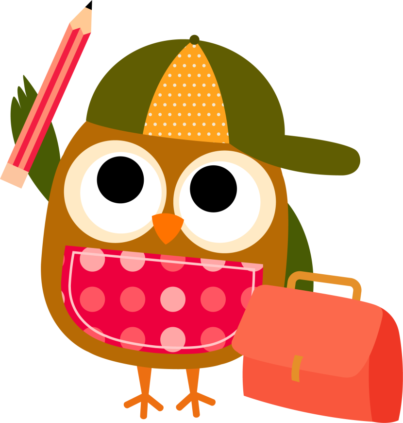 Cliparts for school for 3 graders with animals banner royalty free Owl reading clipart 3 - Clipartix banner royalty free