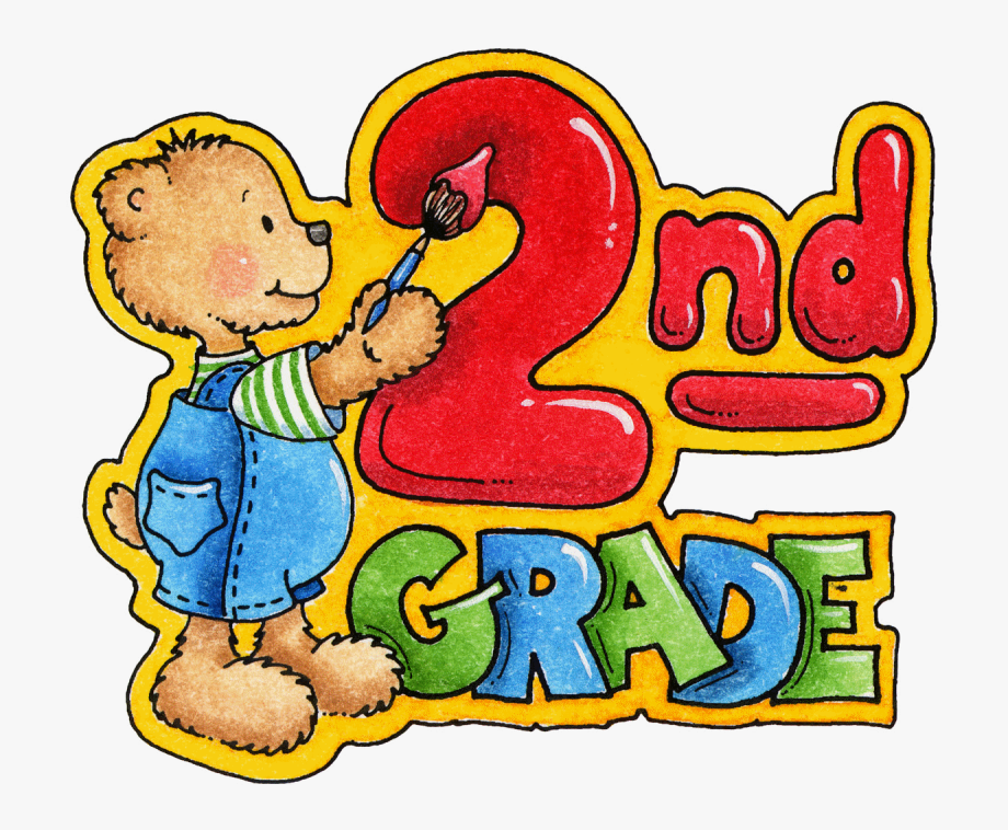 Cliparts for school for 3 graders with animals vector library Pin Welcome Back To School Banner Clip Art - Welcome To Grade 2 ... vector library