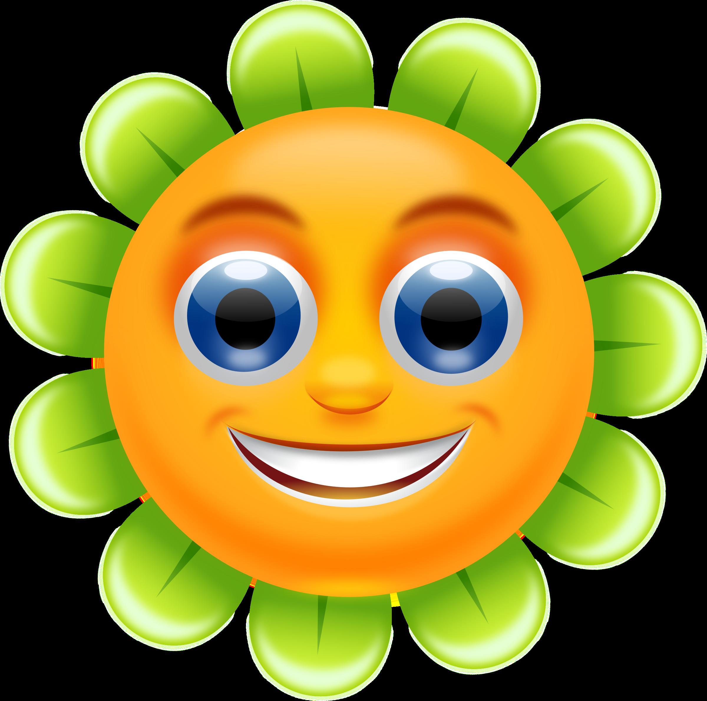 Cliparts free download svg freeuse Blue Flower Clipart Smiley Flower #2525740 svg freeuse