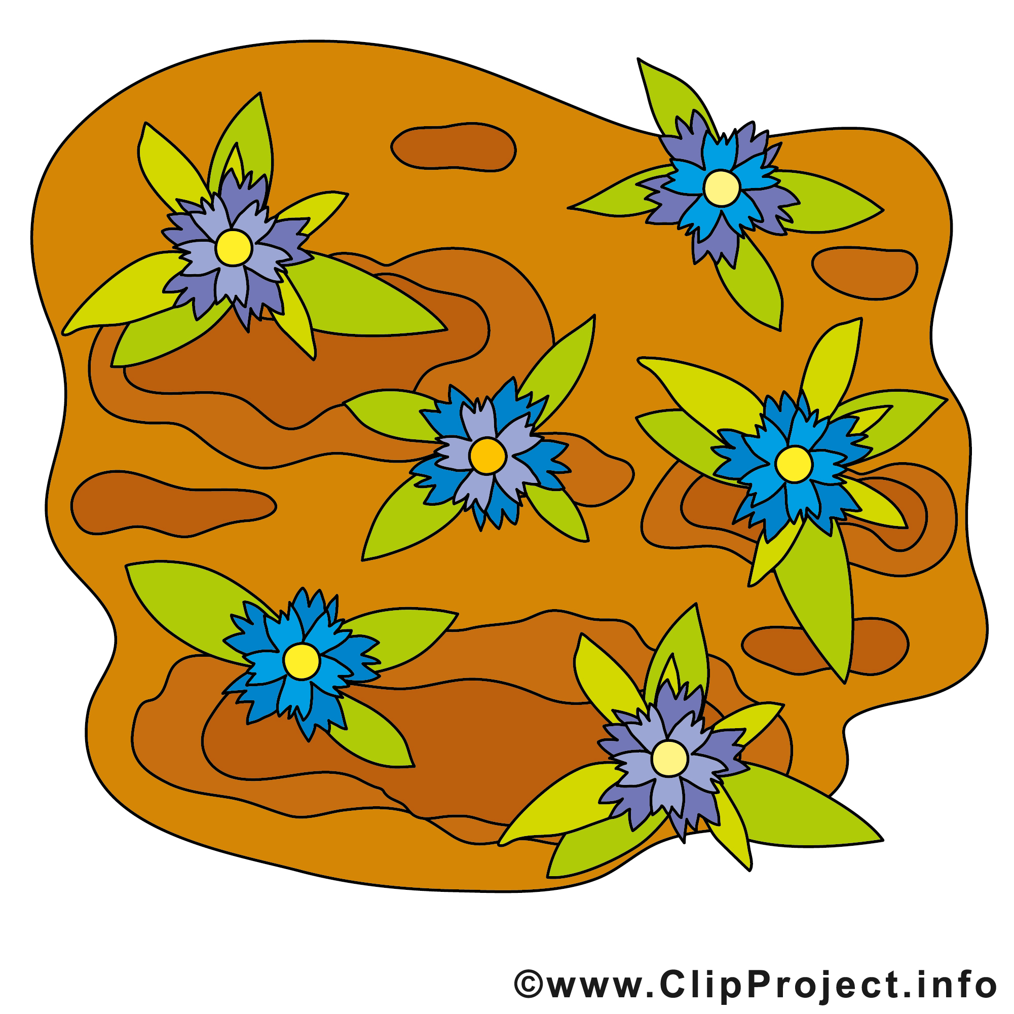 Cliparts garten graphic free stock Blumen im Garten Bild Clip Art free graphic free stock