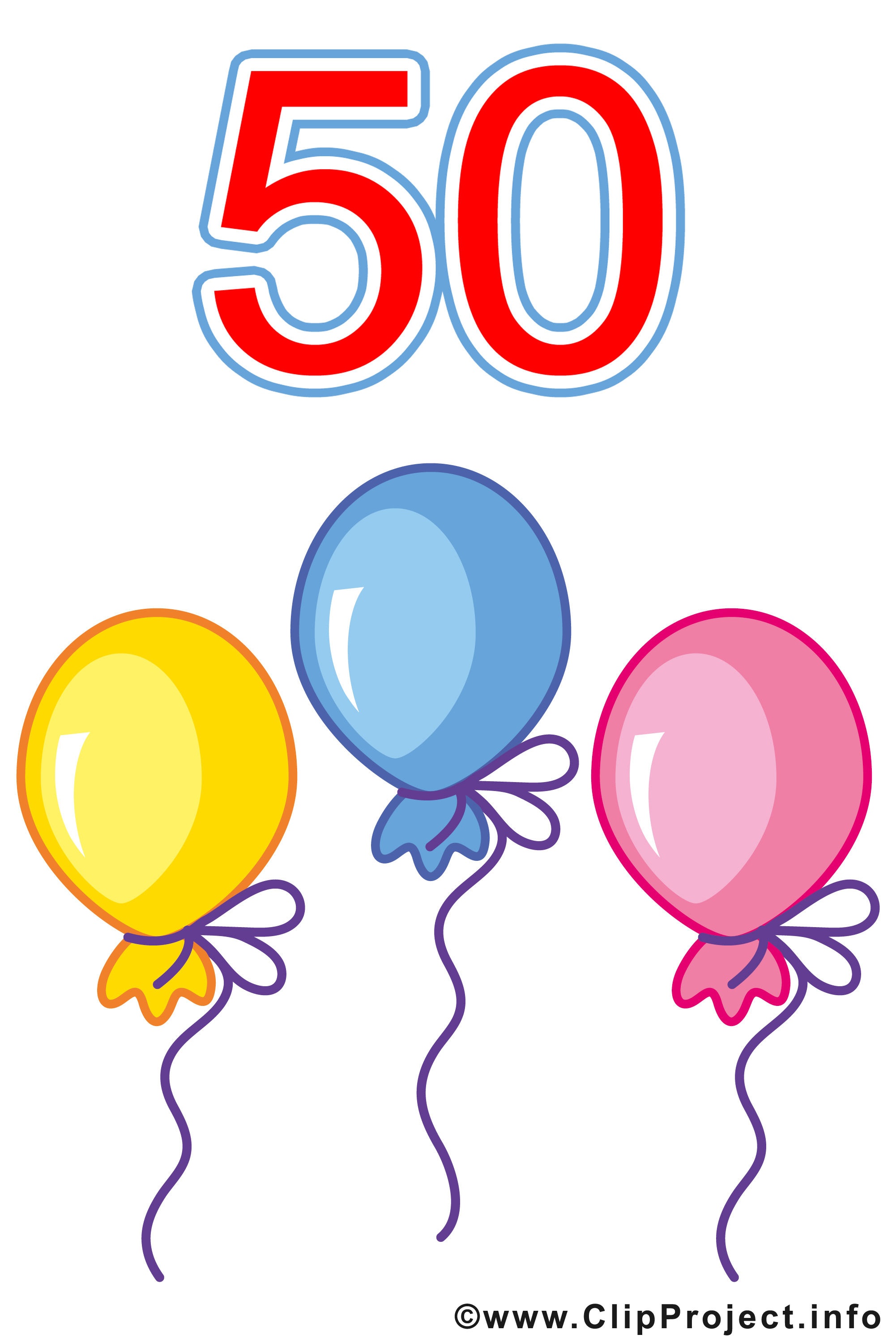 Cliparts geburtstag 50 banner black and white stock 50 Geburtstag Bilder gratis banner black and white stock
