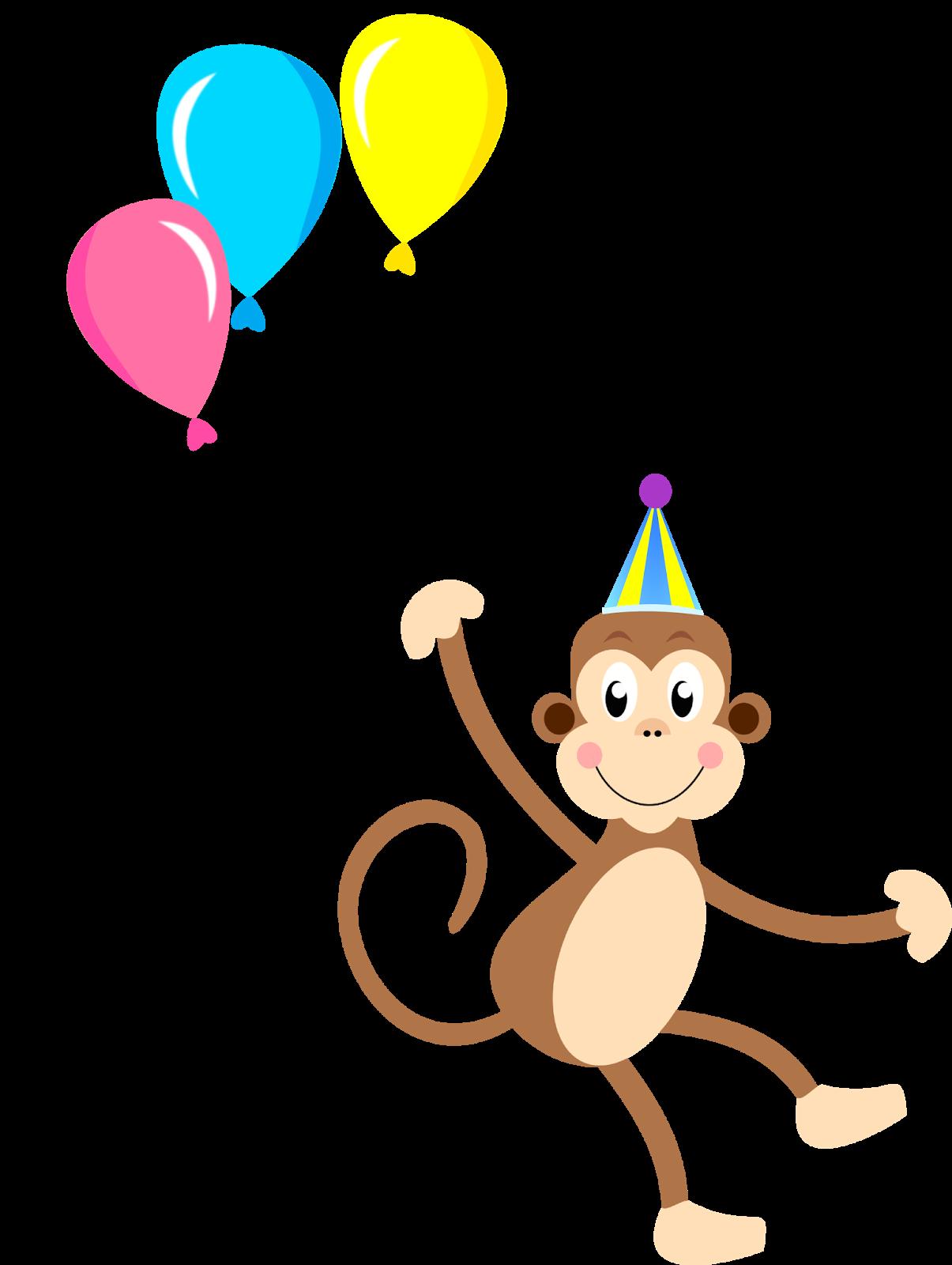 Cliparts geburtstag einladung vector download Macaco circo Montando a minha festa | sirk carnal | Pinterest vector download