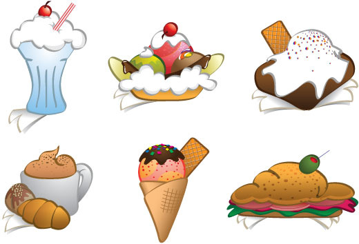 Cliparts graphics png freeuse 6 free vector dessert cliparts food graphics Free vector in Adobe ... png freeuse
