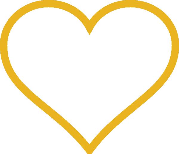 Cliparts heart gold clipart Gold Heart Clip Art at Clker.com - vector clip art online, royalty ... clipart