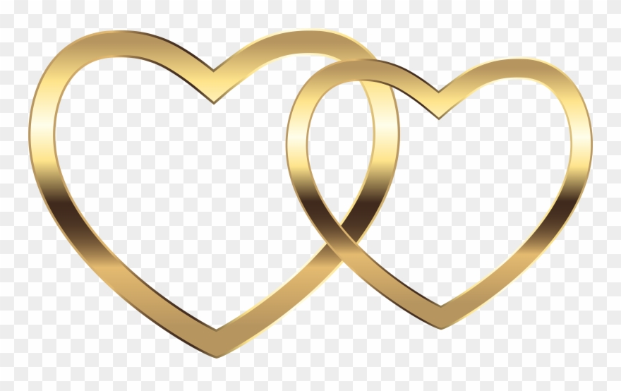 Cliparts heart gold clip free Heart Gold Png Clipart (#60234) - PinClipart clip free