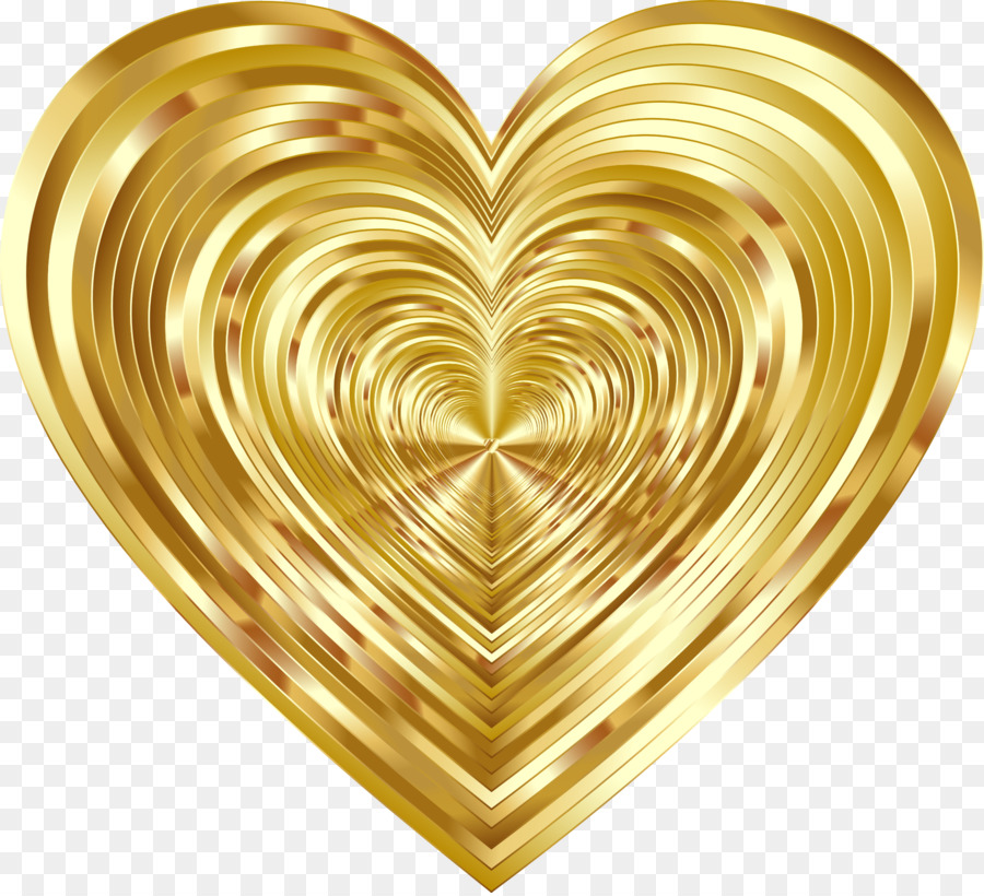 Cliparts heart gold graphic library library Circle Gold clipart - Heart, Gold, Circle, transparent clip art graphic library library