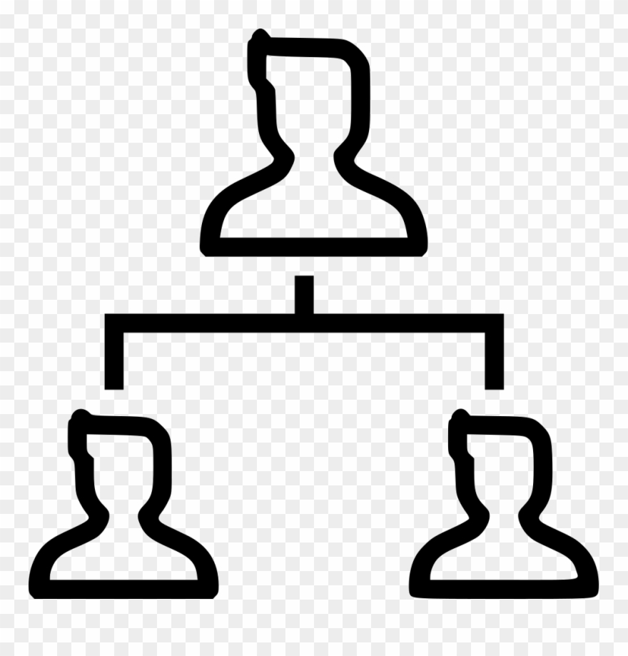 Cliparts hierarchy png free stock Company Organization Structure Hierarchy Leader Subordinates ... png free stock