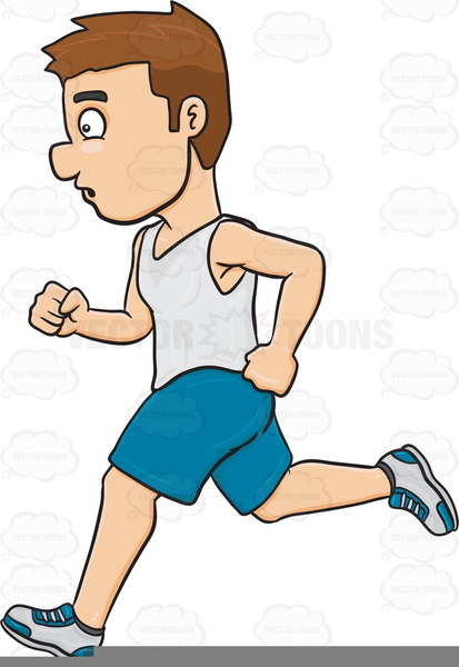 Jogger clipart free svg black and white library Joggers Clipart | Free Images at Clker.com - vector clip art online ... svg black and white library