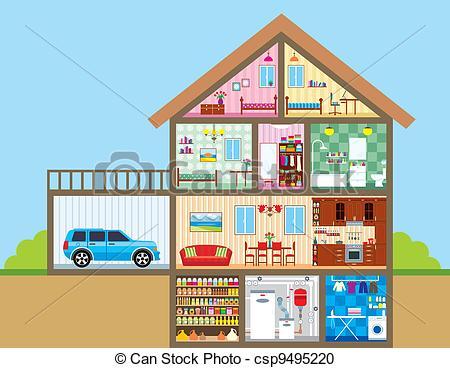 Cliparts keller svg transparent download House Illustrations and Stock Art. 341,796 House illustration ... svg transparent download