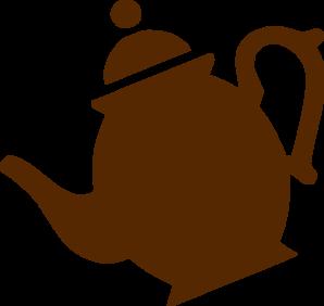 Teapot pouring clip art. Cliparts klein