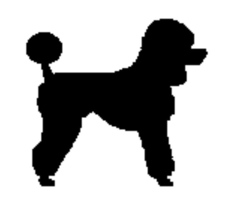 Cliparts klein image freeuse download Klein poodle clipart - ClipartFest image freeuse download
