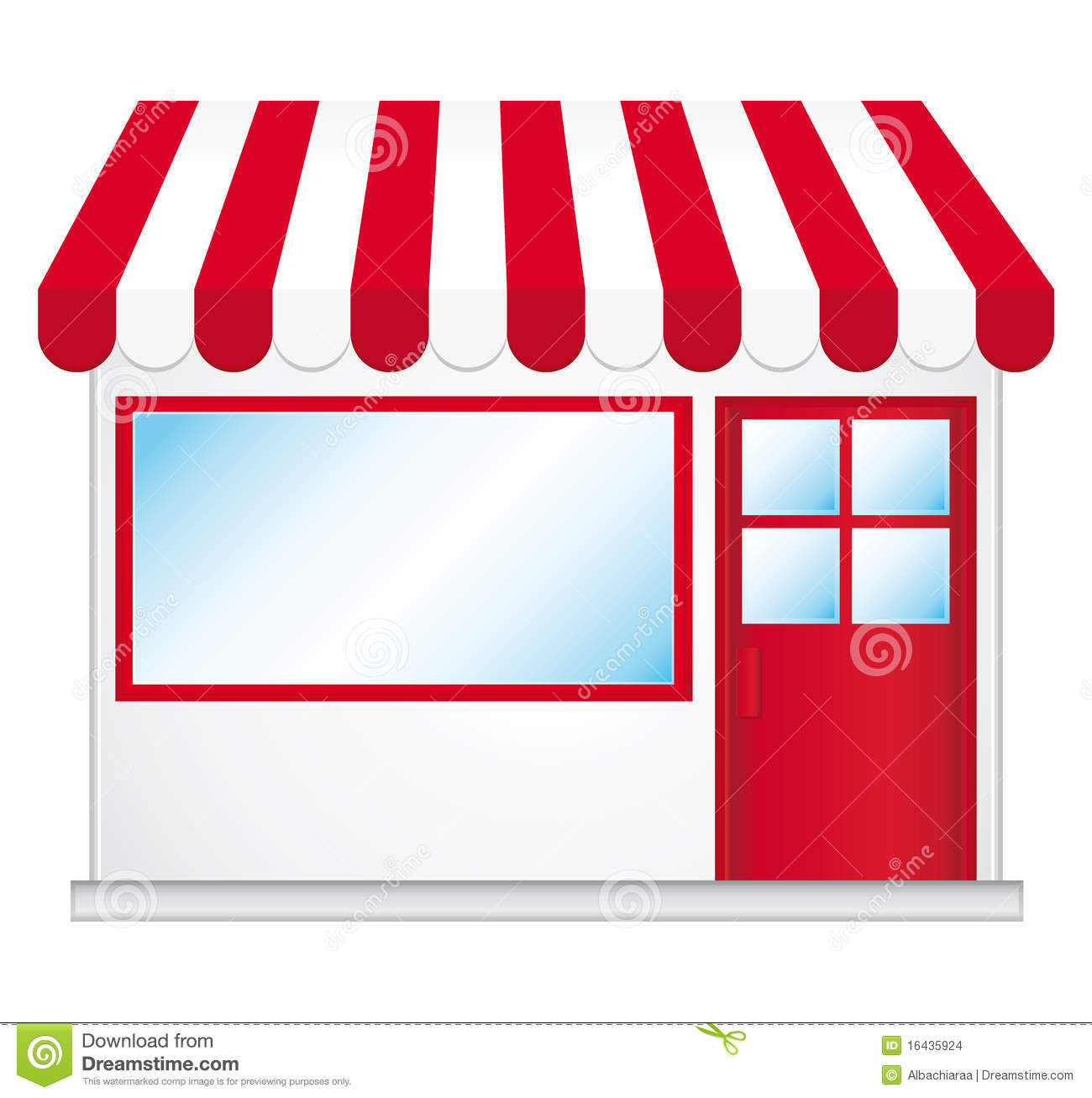 Cliparts laden vector freeuse stock Shop Front Clipart - Clipart Kid vector freeuse stock