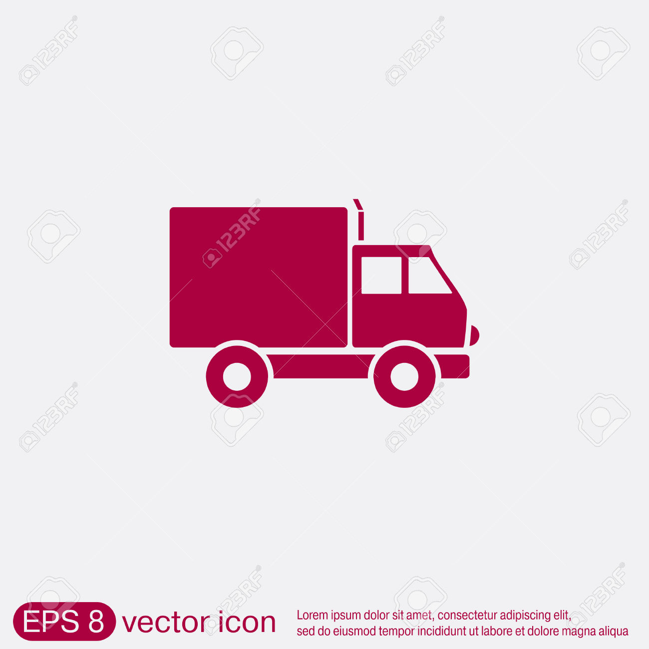Cliparts laden clip free download Truck. Logistic Icon. Transportation Symbol. Symbol Icon Laden ... clip free download