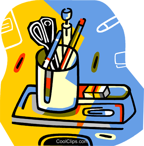 Cliparts of office supplies graphic freeuse stock Office Supplies Clip Art (103+ images in Collection) Page 1 graphic freeuse stock