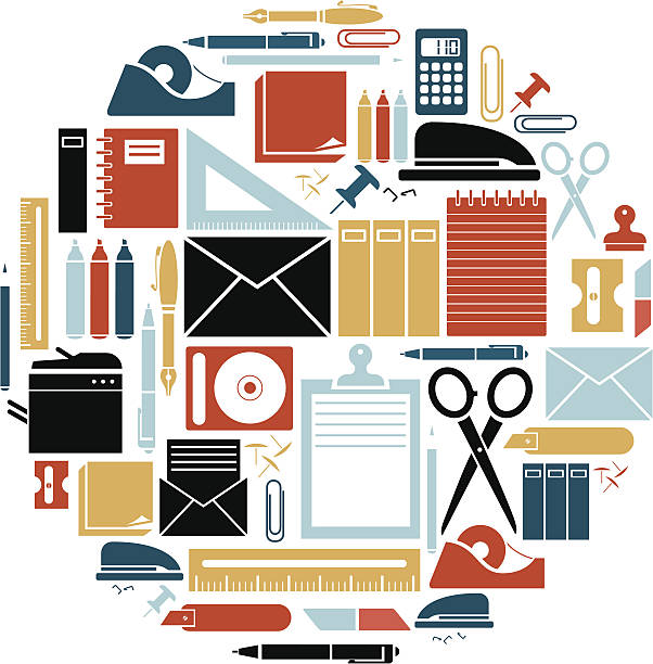 Cliparts of office supplies clip art royalty free download Clipart office supplies 5 » Clipart Station clip art royalty free download