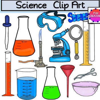 Cliparts of science equipment banner royalty free download Science Equipment Clip Art banner royalty free download