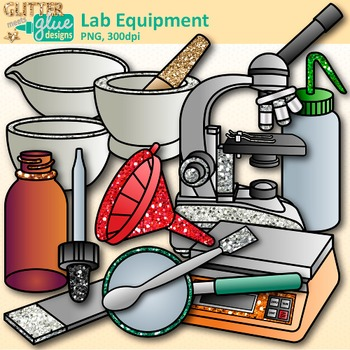 Cliparts of science equipment clipart library download Chemistry Clip Art: Science Lab Equipment & Safety Graphics {Glitter Meets  Glue} clipart library download