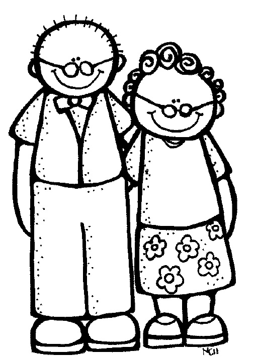 Cliparts oma und opa kostenlos picture black and white download 10+ images about Thema oma en opa on Pinterest | Grandmothers, Tes ... picture black and white download