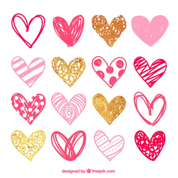 Cliparts package free download. Heart vectors photos and