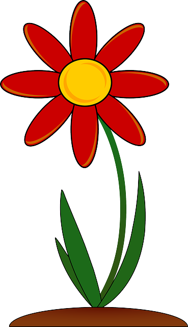 Cliparts planting flowers vector royalty free Free Image on Pixabay - Plant, Flowering, Red, Floral | Clip Art ... vector royalty free