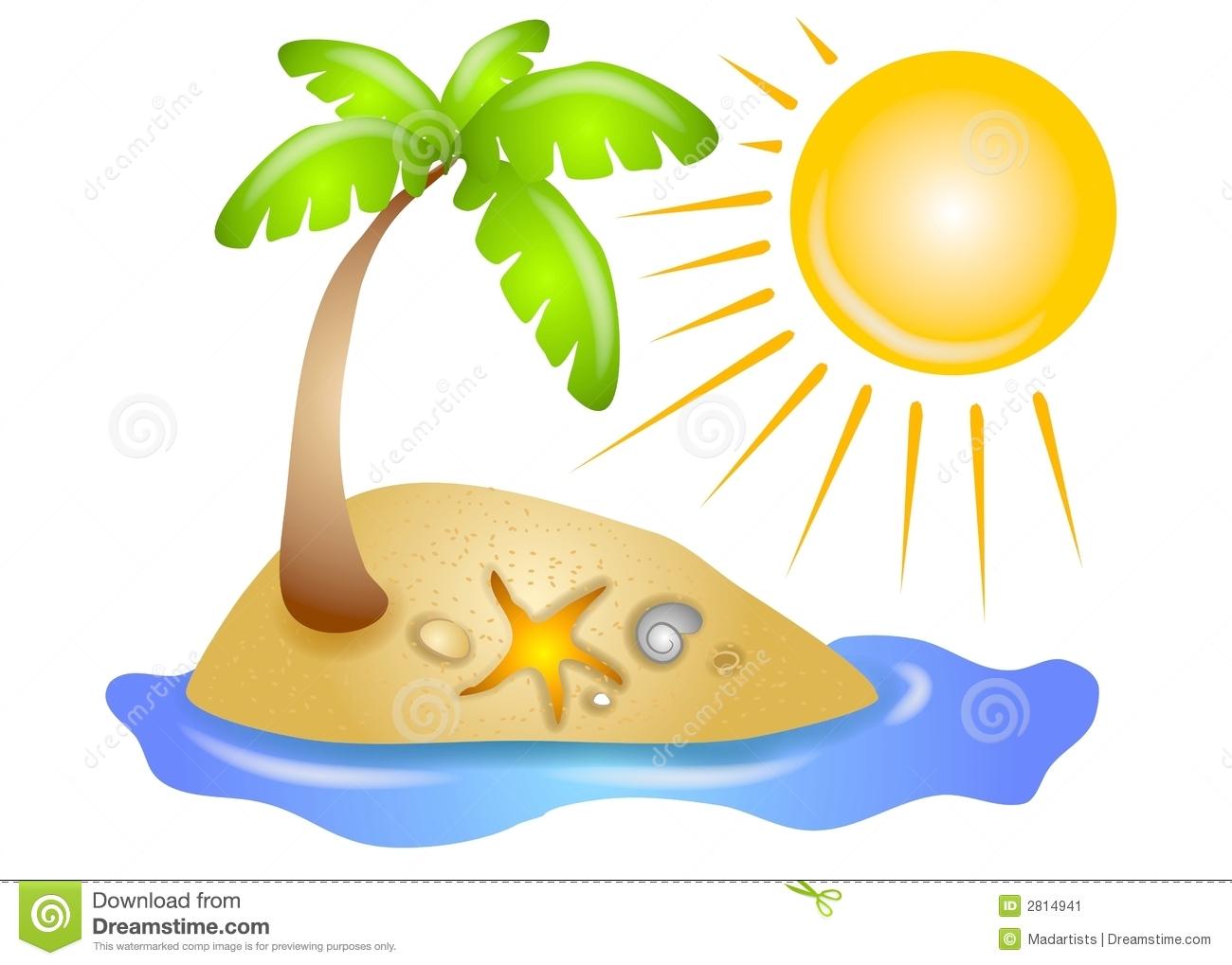 Cliparts strand kostenlos. Sonne und meer clipart