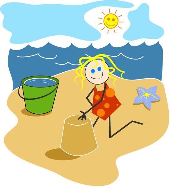 Cliparts strand kostenlos. Clipartfest beach time strandclipart