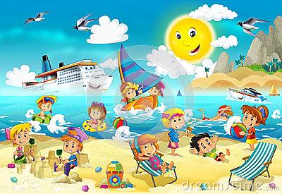 Cliparts strand kostenlos clipart free stock Kinder am strand clipart - ClipartFox clipart free stock