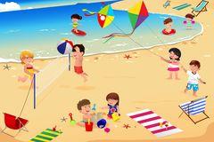 Cliparts strand kostenlos vector Kinder am strand clipart - ClipartFox vector