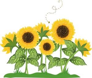 Sunflower background clipart image royalty free library Sunflower Border Clip Art | Sunflowers Clip Art Images Sunflowers ... image royalty free library