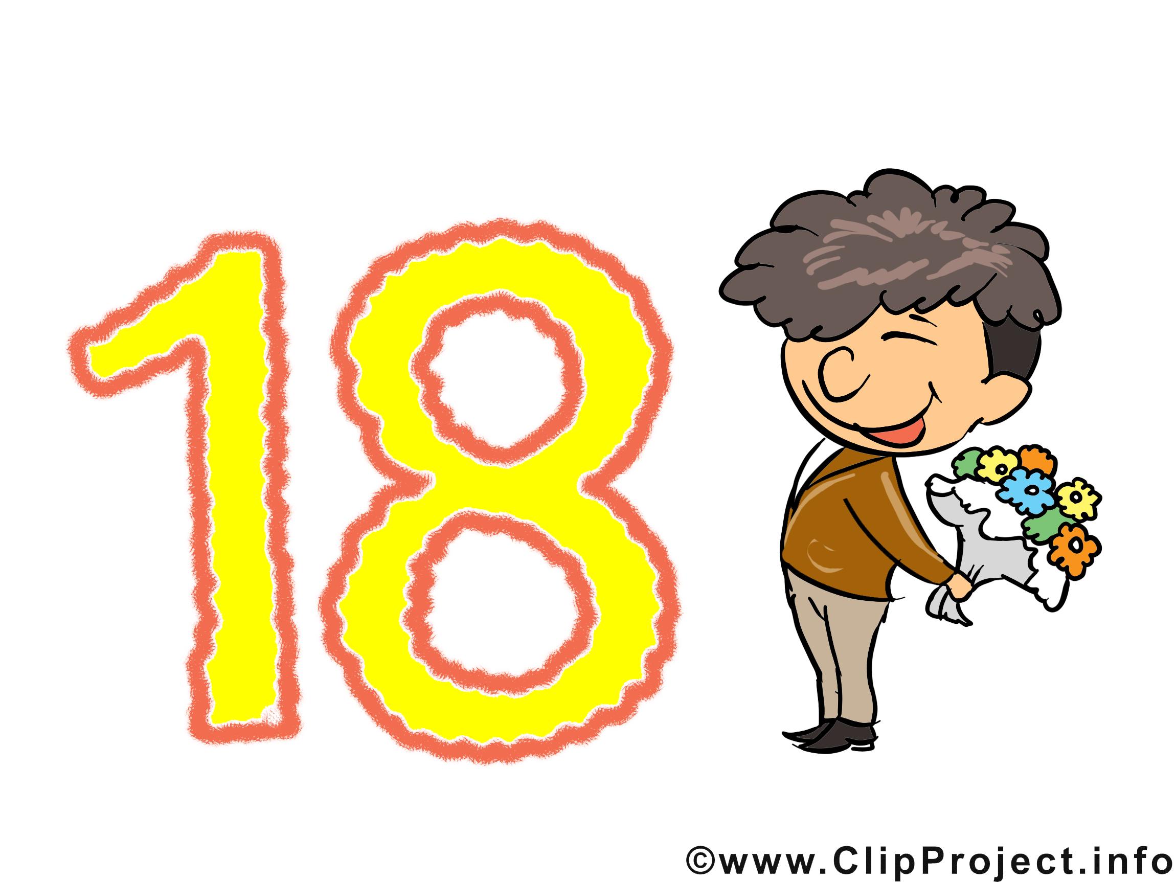 Cliparts zum 18 geburtstag picture library Cliparts zum 18 geburtstag - ClipartFox picture library