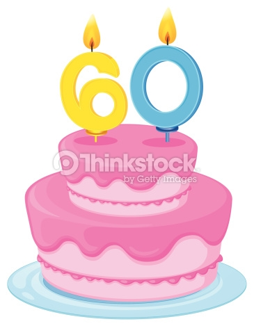 Cliparts zum 60 geburtstag png library library Birthday Cake Vector Art | Thinkstock png library library