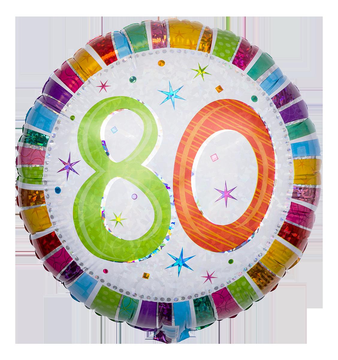 Cliparts zum 80 geburtstag png download Clipart zahlen 80 png download