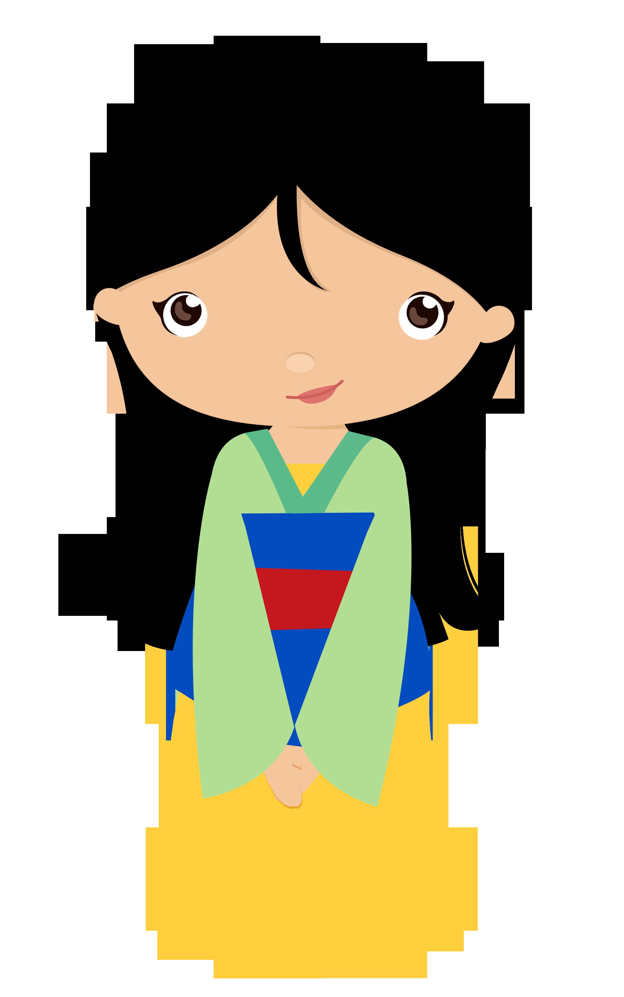 Cliparts zum 80 geburtstag vector free download Mulan e Pocahontas - CAT_ Traditional Princess 1.png - Minus | Kids ... vector free download