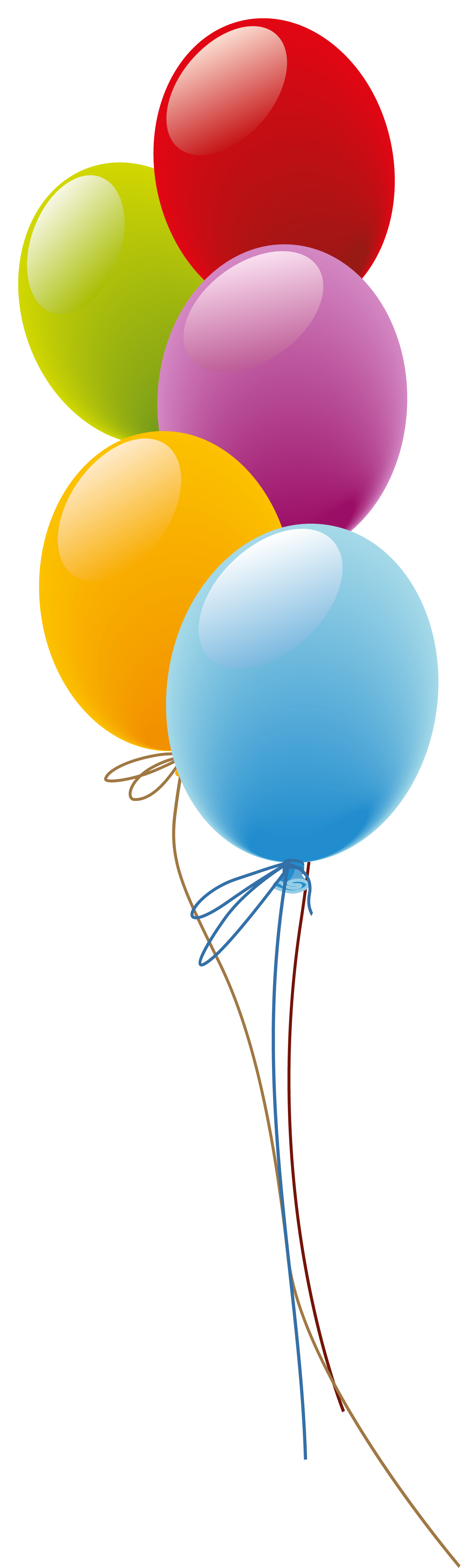 Balloons png picture artistic. Cliparts zum 80 geburtstag