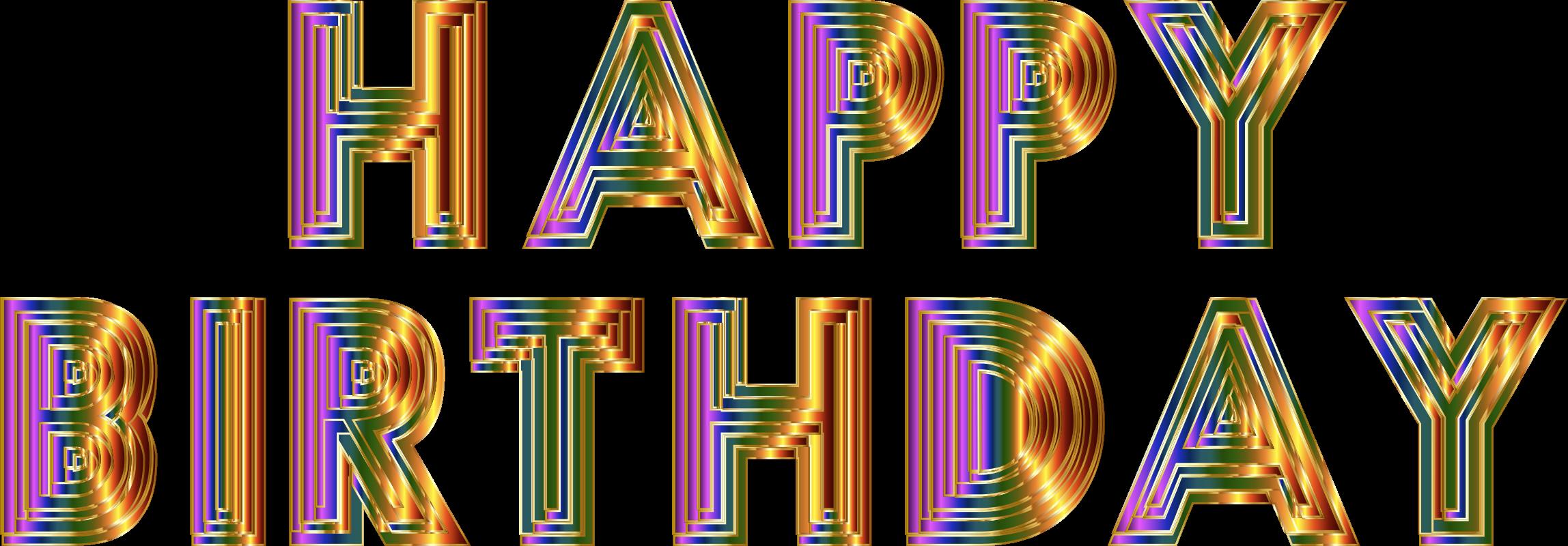 Cliparts zum geburtstag kostenlos banner free library Clipart - Happy Birthday Typography 6 banner free library