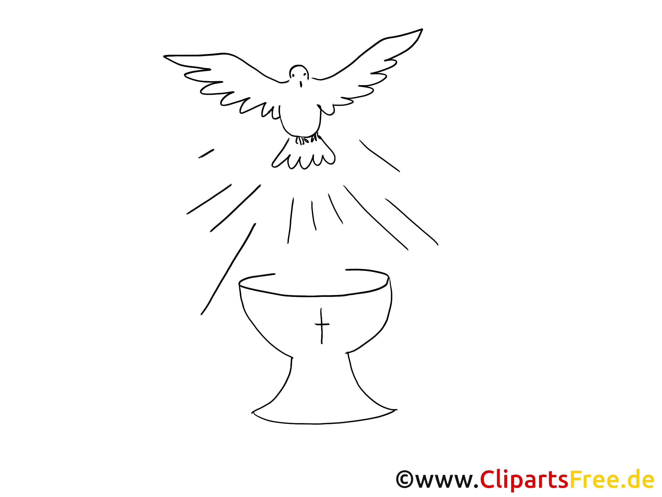 Clipartfest kostenlose ausmalbilder. Cliparts zur taufe kostenlos
