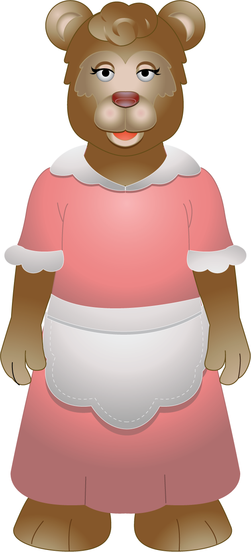 Cliparty mama library mama bear clipart | LOS TRES OSOS | Pinterest library