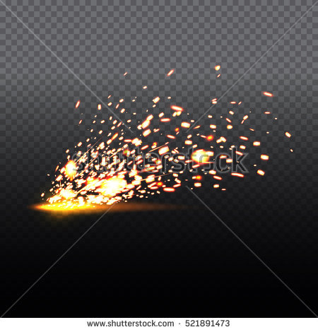 Clker gold glittering spiral star dust trail clipart transparent background vector library download Sparkle clipart fire spark - 141 transparent clip arts, images and ... vector library download