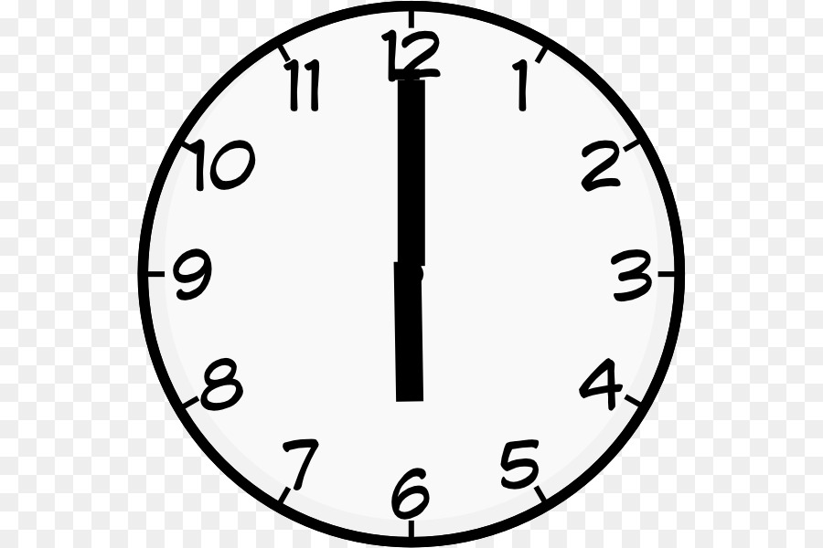 Clock 7 o clock clipart black and white image free download Circle Time png download - 600*600 - Free Transparent Clock Face png ... image free download