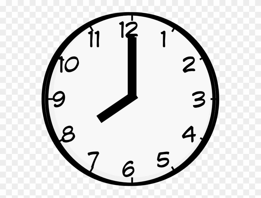 Clock 7 o clock clipart black and white jpg transparent stock Clipart 7 O Clock – 2.000.000 Cool Cliparts, Stock Vector And ... jpg transparent stock